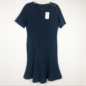 Banana Republic Navy Dress Size 6 NWT